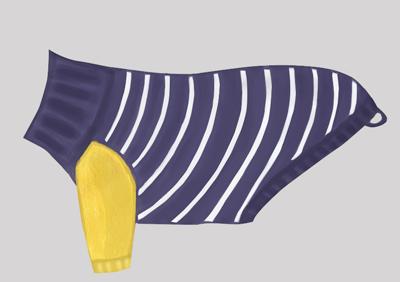 Otello. Hunde-Pullover Elektra